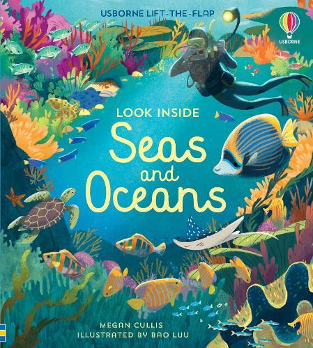 Look Inside Seas and Oceans - Look Inside (Board book)