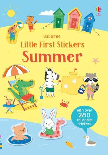 Little First Stickers Summer - Little First Stickers (Paperback)