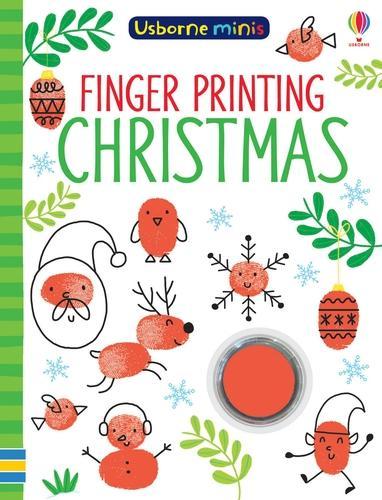 Finger Printing Christmas - Usborne Minis (Paperback)