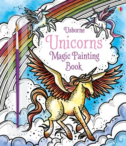 Unicorns Magic Painting Book - Magic Painting Books (Paperback)
