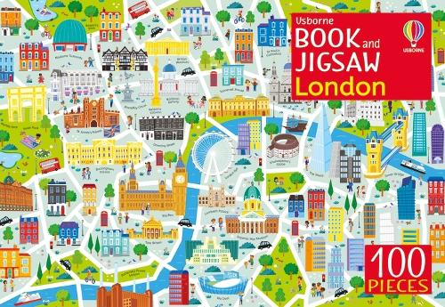 Usborne Book and Jigsaw London - Usborne Book and Jigsaw (Jigsaw)