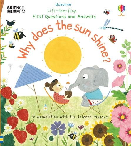Why Does the Sun Shine? - Lift the Flap First Questions and Answers (Board book)