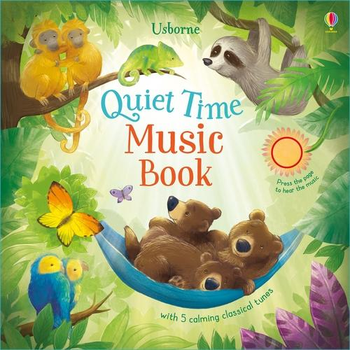 Quiet Time Music Book (Board book)