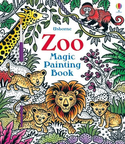 Zoo Magic Painting Book - Magic Painting Books (Paperback)