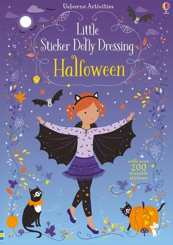 Little Sticker Dolly Dressing Halloween - Sticker Dolly Dressing (Paperback)