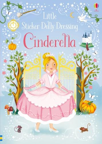 Little Sticker Dolly Dressing Fairytales Cinderella - Sticker Dolly Dressing (Paperback)