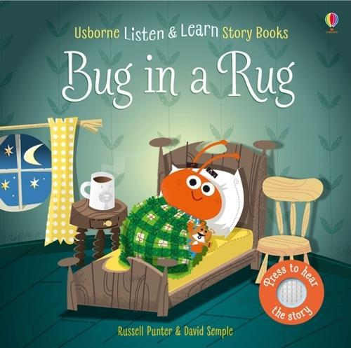 Bug in a Rug - Listen & Read Story Books (Board book)