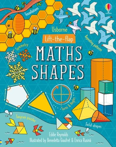 Lift-the-Flap Maths Shapes - Lift-the-Flap (Board book)