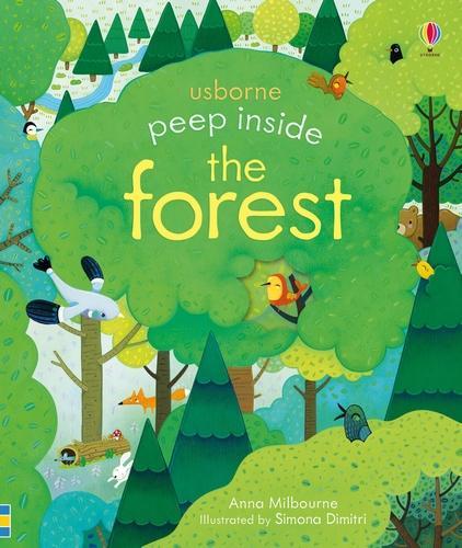 Peep Inside a Forest - Peep Inside (Board book)