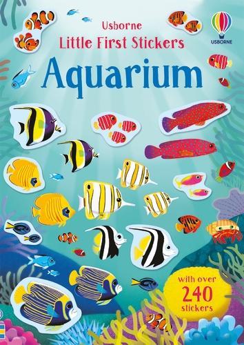 Little First Stickers Aquarium - Little First Stickers (Paperback)