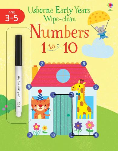 Early Years Wipe-clean Numbers 1 to 10 - Usborne Early Years Wipe-clean (Paperback)