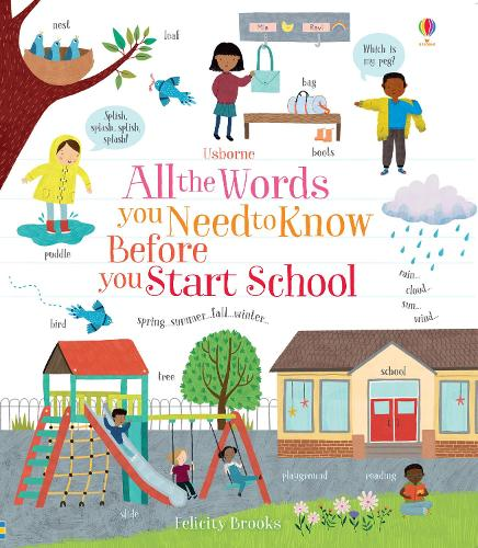 All the Words You Need to Know Before You Start School (Board book)