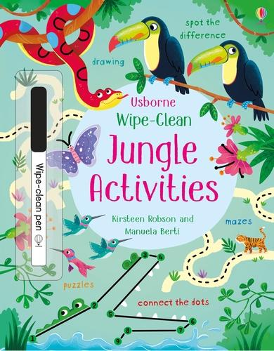 Wipe-Clean Jungle Activities - Wipe-clean Activities (Paperback)