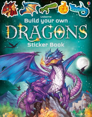 Build Your Own Dragons Sticker Book - Build Your Own Sticker Book (Paperback)