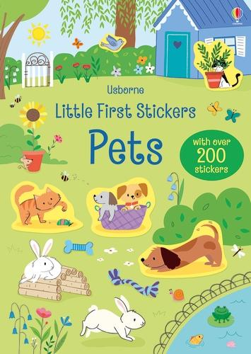 Little First Stickers Pets - Little First Stickers (Paperback)
