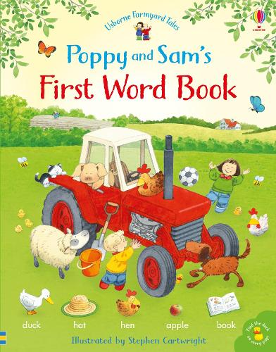 Poppy and Sam's First Word Book - Farmyard Tales Poppy and Sam (Hardback)