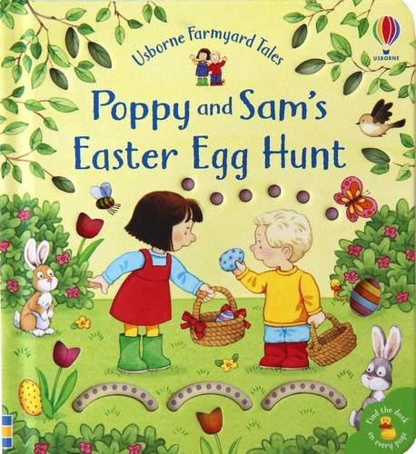 Poppy and Sam's Easter Egg Hunt - Farmyard Tales Poppy and Sam (Board book)