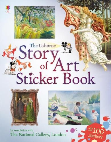 Story of Art Sticker Book (Paperback)
