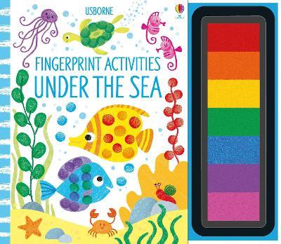 Fingerprint Activities Under the Sea - Fingerprint Activities (Spiral bound)
