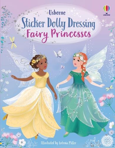 Sticker Dolly Dressing Fairy Princesses - Sticker Dolly Dressing (Paperback)