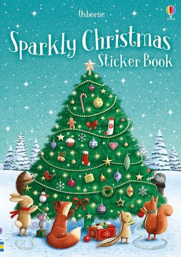 Sparkly Christmas Sticker Book - Sparkly Sticker Books (Paperback)