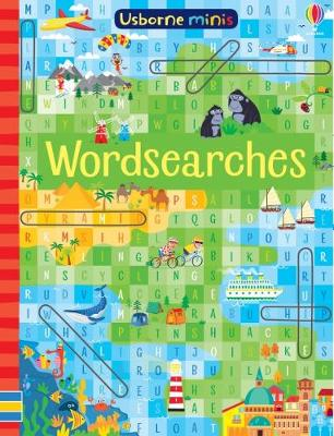 Wordsearches x 5 pack - Usborne Minis (Paperback)