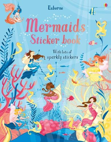 Mermaids Sticker Book (Paperback)