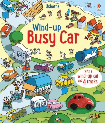 Wind-Up Busy Car - Wind-up Books (Board book)