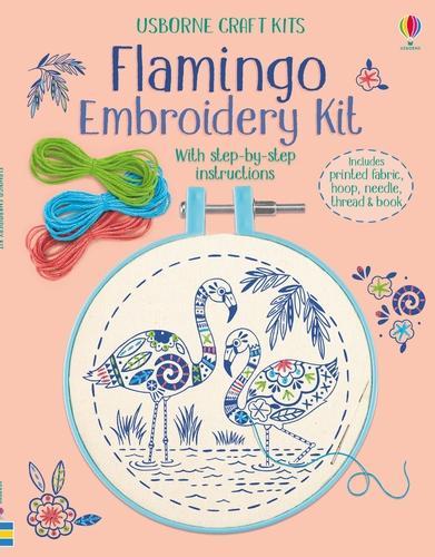 Embroidery Kit: Flamingo - Embroidery Kit