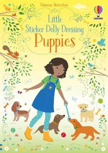 Little Sticker Dolly Dressing Puppies - Sticker Dolly Dressing (Paperback)