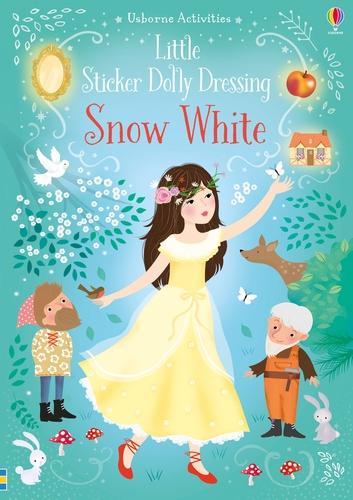 Little Sticker Dolly Dressing Snow White - Sticker Dolly Dressing (Paperback)