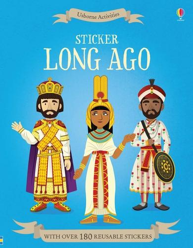 Sticker Long Ago (Paperback)