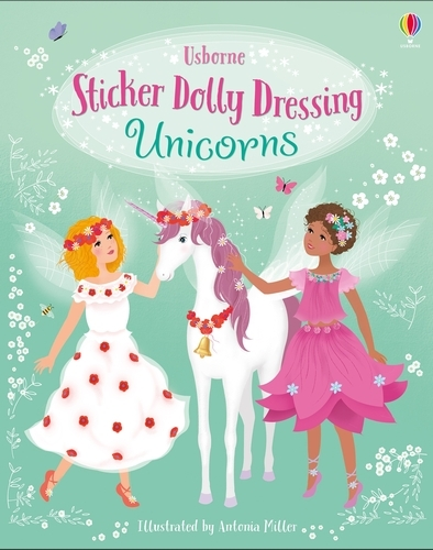 Sticker Dolly Dressing Unicorns - Sticker Dolly Dressing (Paperback)