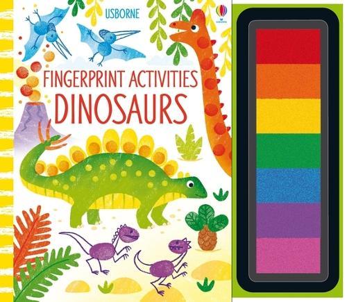 Fingerprint Activities Dinosaurs - Fingerprint Activities (Spiral bound)