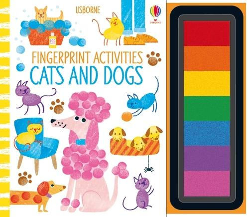 Fingerprint Activities Cats and Dogs - Fingerprint Activities (Spiral bound)
