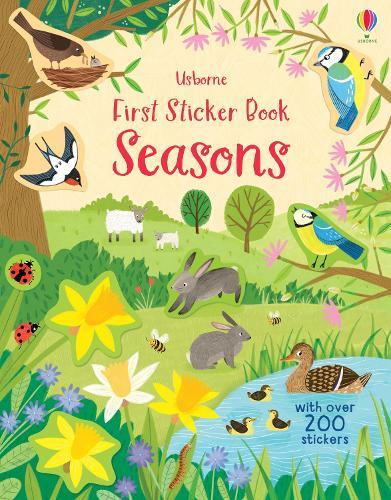 First Sticker Book Seasons - First Sticker Books (Paperback)