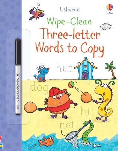 Wipe-Clean Three-Letter Words to Copy - Wipe-Clean Books (Paperback)