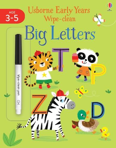 Early Years Wipe-Clean Big Letters - Usborne Early Years Wipe-clean (Paperback)
