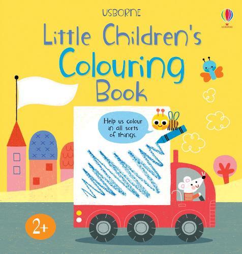 Little Children's Colouring Book (Paperback)