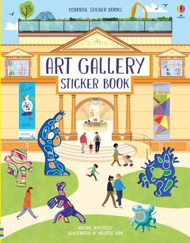 Art Gallery Sticker Book - Doll's House Sticker Books (Paperback)
