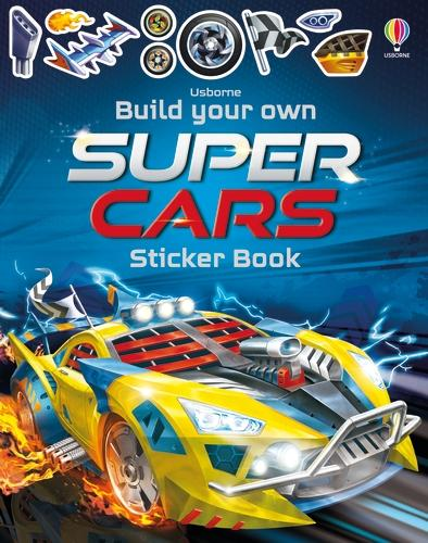 Build Your Own Supercars Sticker Book - Build Your Own Sticker Book (Paperback)