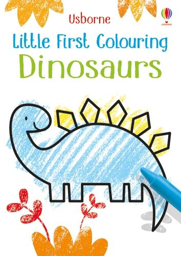 Little First Colouring Dinosaurs - Little First Colouring (Paperback)