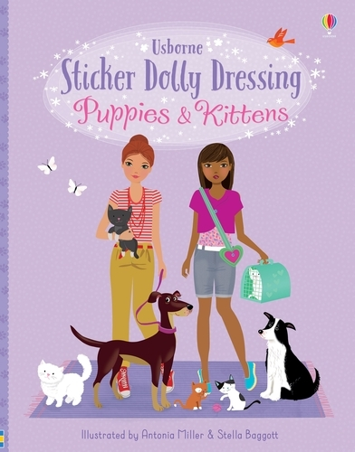 Sticker Dolly Dressing Puppies & Kittens - Sticker Dolly Dressing (Paperback)