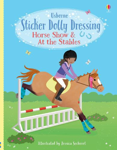 Sticker Dolly Dressing Horse Show & At the Stables
