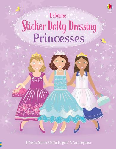 Sticker Dolly Dressing Princesses - Sticker Dolly Dressing (Paperback)