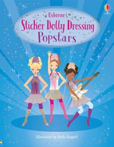 Popstars - Sticker Dolly Dressing (Paperback)
