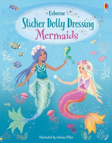 Mermaids - Sticker Dolly Dressing (Paperback)