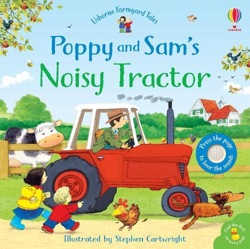 Poppy and Sam's Noisy Tractor - Farmyard Tales Poppy and Sam (Board book)