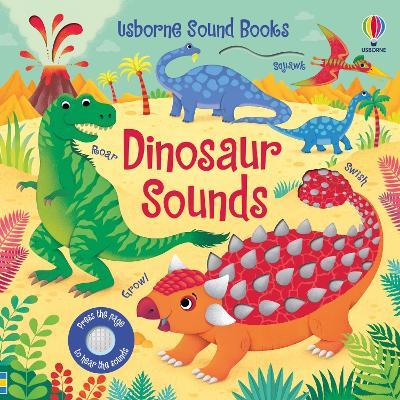 Dinosaur Sounds - Sound Books (Board book)
