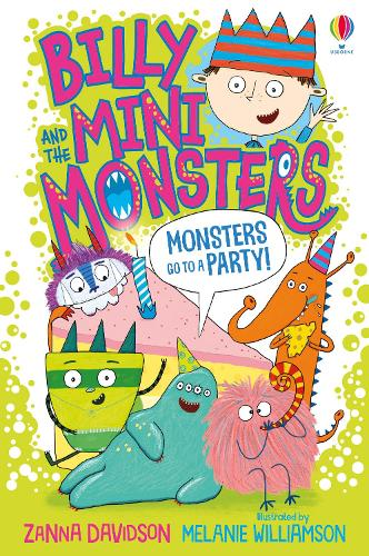 Monsters go to a Party - Billy and the Mini Monsters (Paperback)